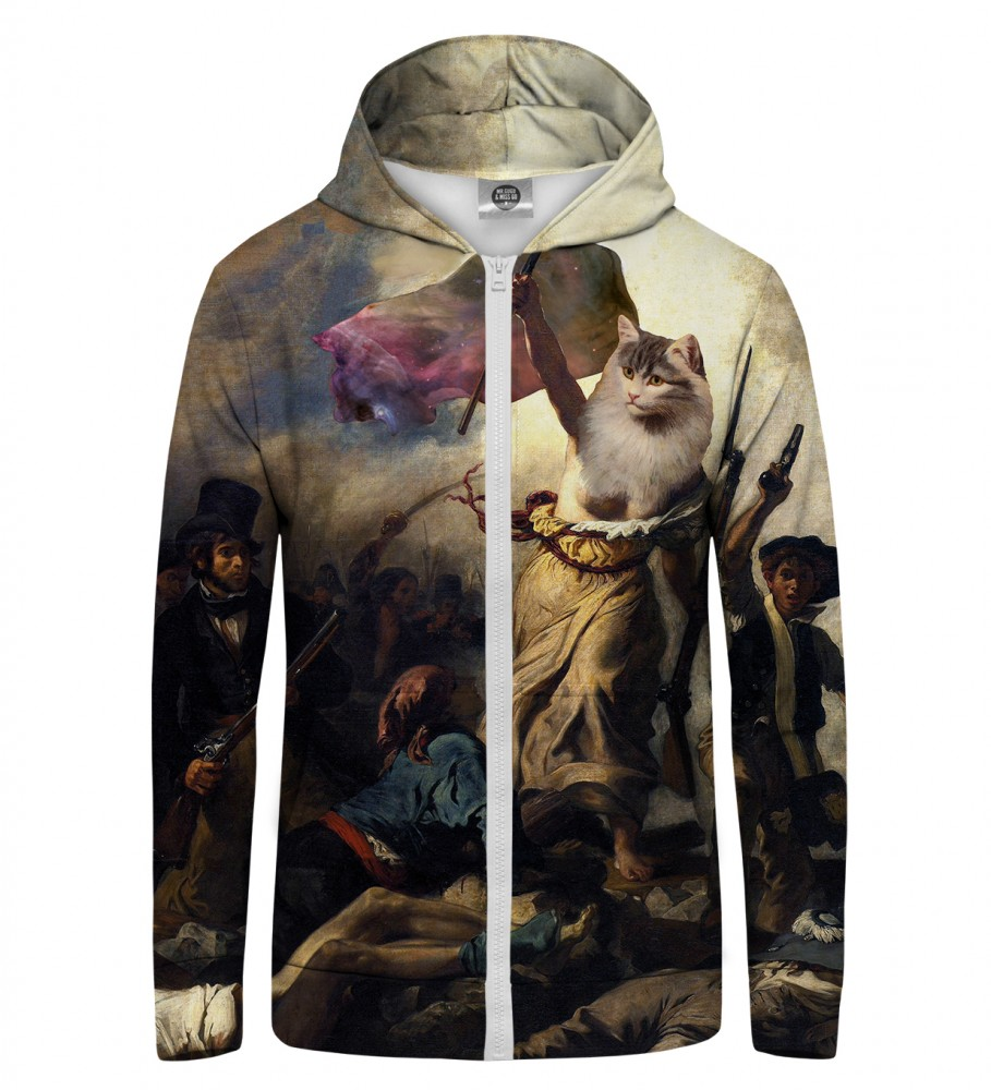Mr. Gugu & Miss Go, Cat Revolution Zip Up Hoodie Immagine $i