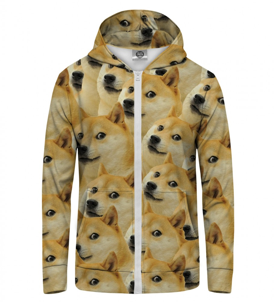 Mr. Gugu & Miss Go, Doge Zip Up Hoodie Image $i