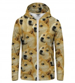 Mr. Gugu & Miss Go, Doge Zip Up Hoodie Miniature $i