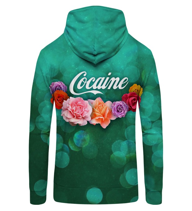 Cocaine Zip Up Hoodie Thumbnail 2