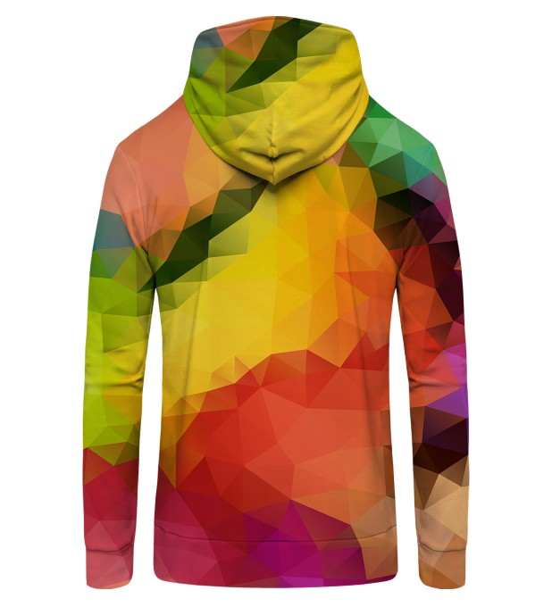 Colorful Geometric Zip Up Hoodie + FREE PILLOW Miniature 2