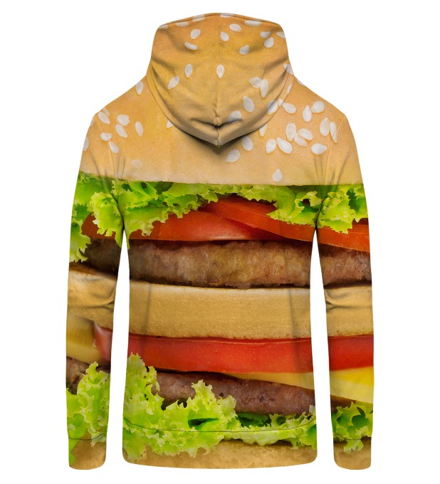 Hamburger Zip Up Hoodie Thumbnail 2