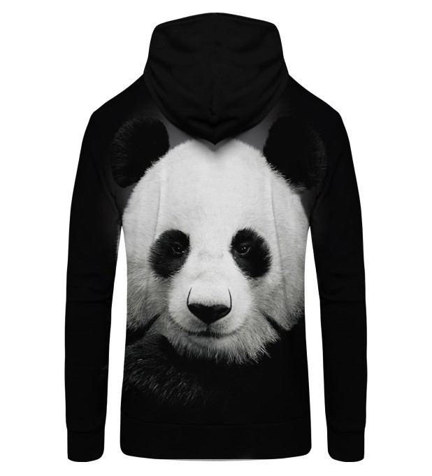 Panda Zip Up Hoodie Miniature 2