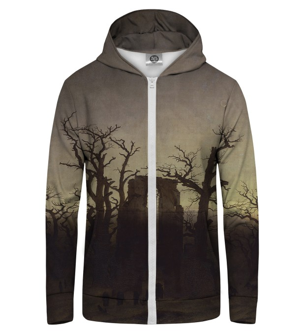 DARK GATE Zip Up Hoodie Miniature 1