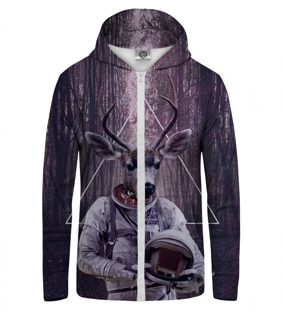Mr. Gugu & Miss Go, ASTRODEER  Zip Up Hoodie Image $i