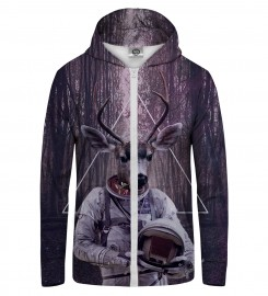 Mr. Gugu & Miss Go, ASTRODEER  Zip Up Hoodie Thumbnail $i