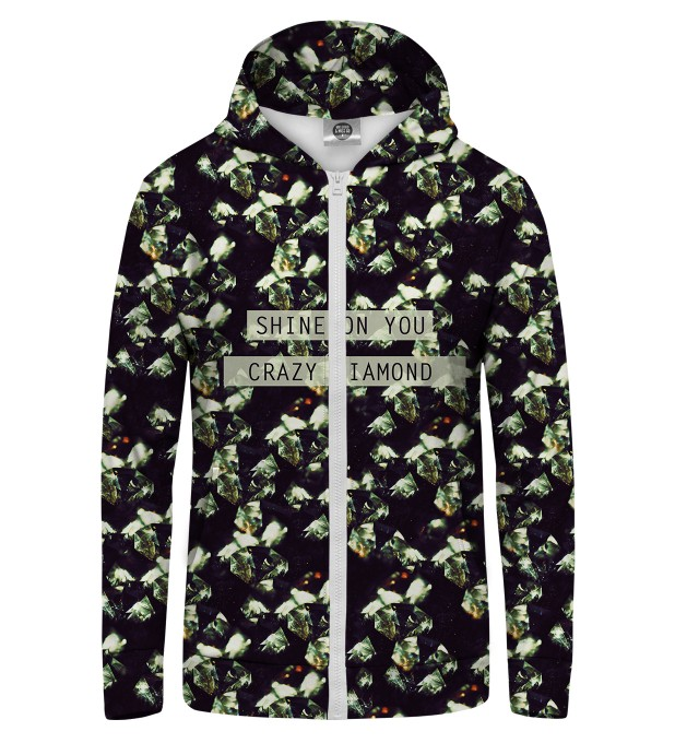 CRAZY DIAMONDS Zip Up Hoodie Thumbnail 1