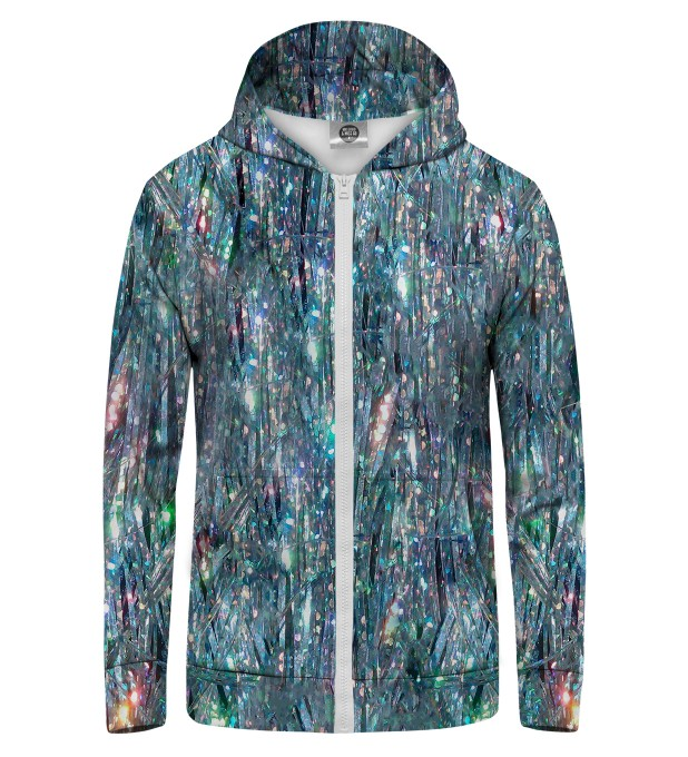 HOLOGRAM 2 Zip Up Hoodie Thumbnail 1