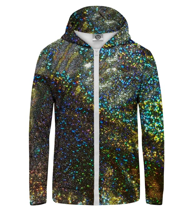 HOLOGRAM  Zip Up Hoodie Thumbnail 1