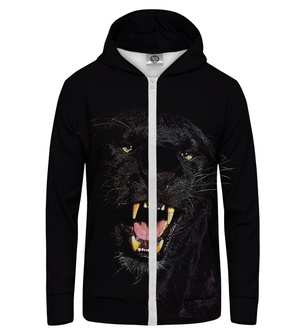 BLACK PANTERA Zip Up Hoodie Thumbnail 1
