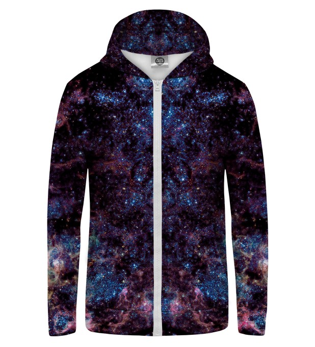 milky way1 Zip Up Hoodie Thumbnail 1