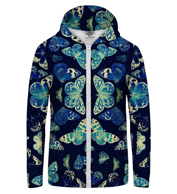 butterflies Zip Up Hoodie Thumbnail 1