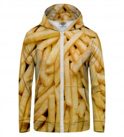 Mr. Gugu & Miss Go, fries  Zip Up Hoodie Thumbnail $i