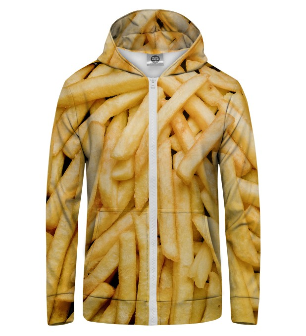 fries  Zip Up Hoodie Miniatura 1