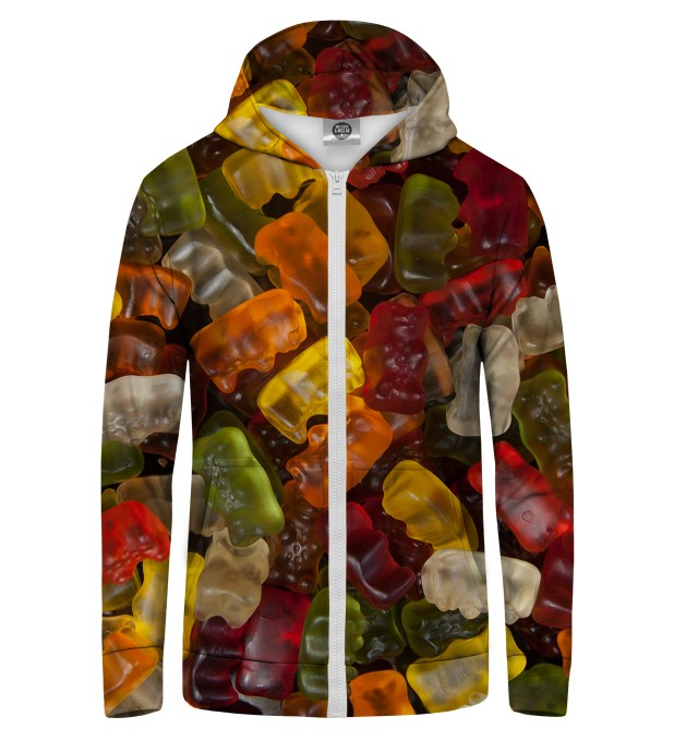 GUMMY BEARs Zip Up Hoodie Thumbnail 1