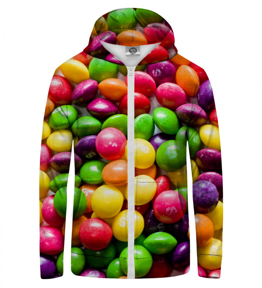 Mr. Gugu & Miss Go, SWEETS Zip Up Hoodie Image $i