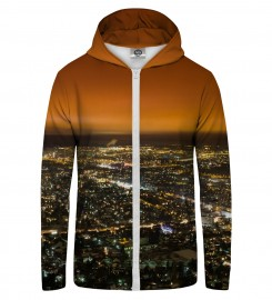 Mr. Gugu & Miss Go, CITY Zip Up Hoodie Thumbnail $i
