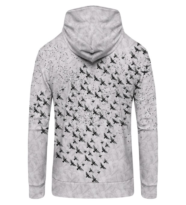 BIRDS Zip Up Hoodie Thumbnail 2
