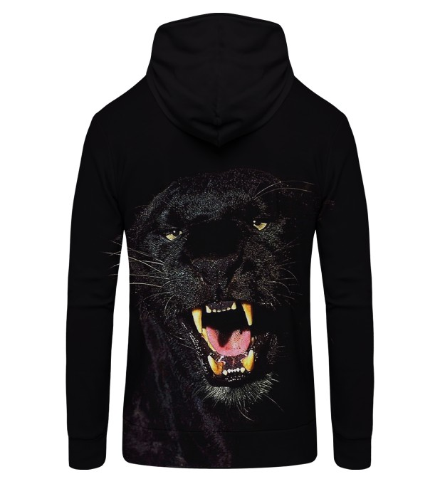 BLACK PANTERA Zip Up Hoodie Thumbnail 2