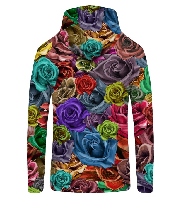 COLORFUL ROSES Zip Up Hoodie Thumbnail 2