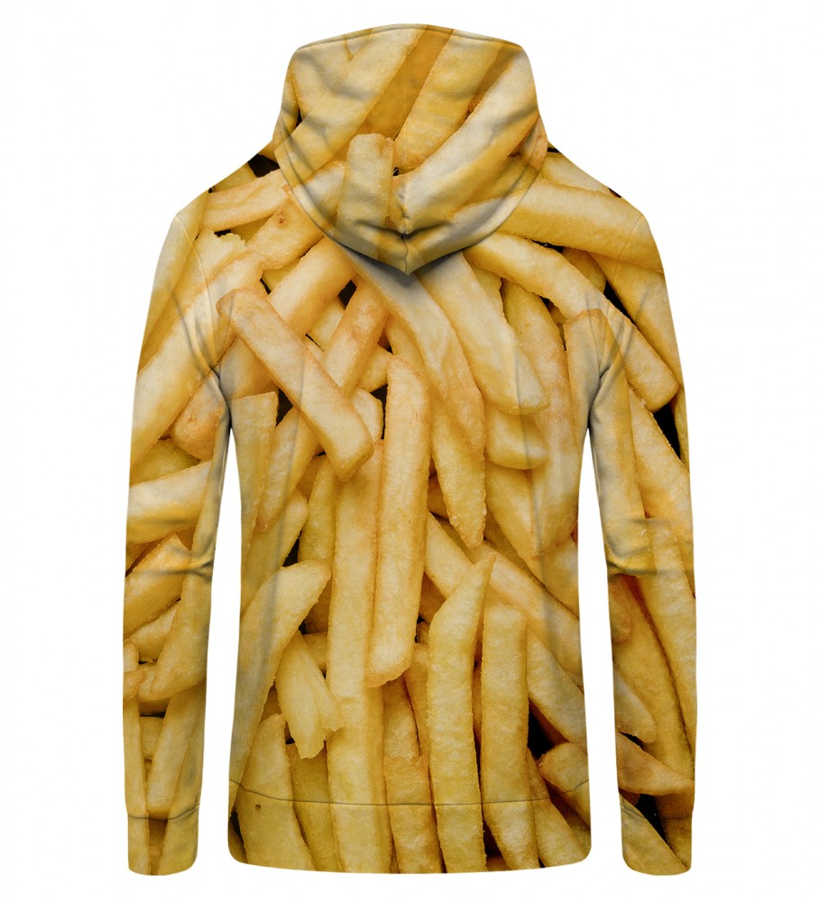 Mr. Gugu & Miss Go, fries  Zip Up Hoodie Image $i