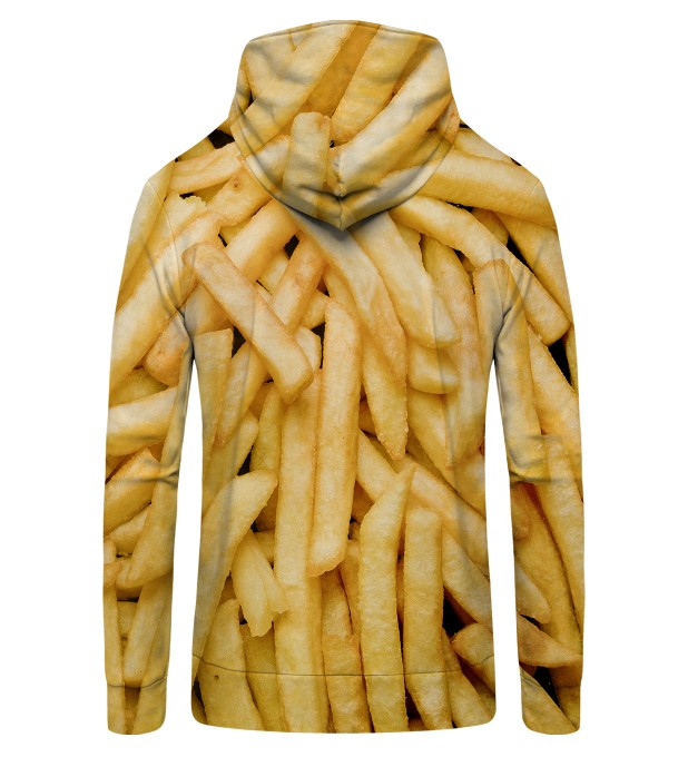 fries  Zip Up Hoodie Miniatura 2