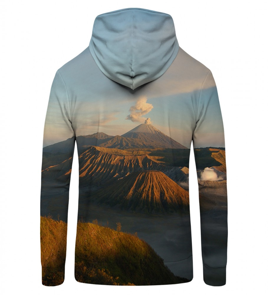 Mr. Gugu & Miss Go, VOLCANO Zip Up Hoodie Image $i