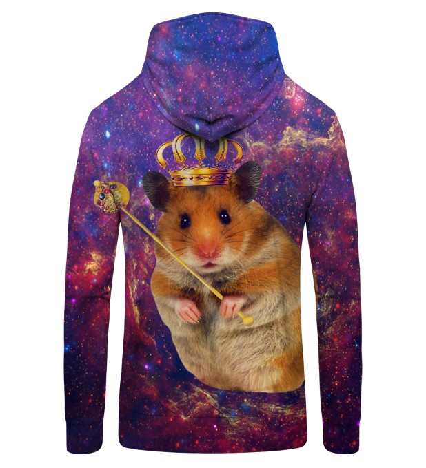 KING HAMSTER Zip Up Hoodie Thumbnail 2