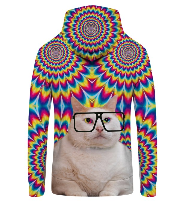 FAT CAT Zip Up Hoodie Miniatura 2