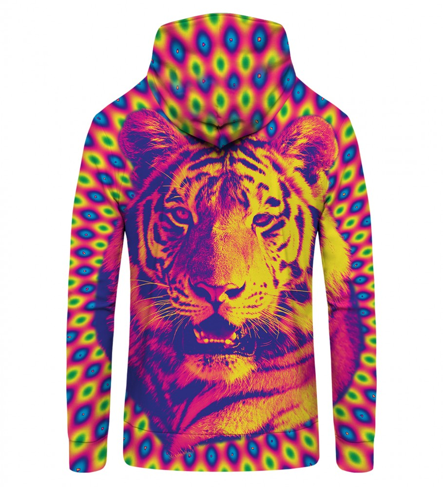 Mr. Gugu & Miss Go, CRAZY TIGER Zip Up Hoodie Image $i