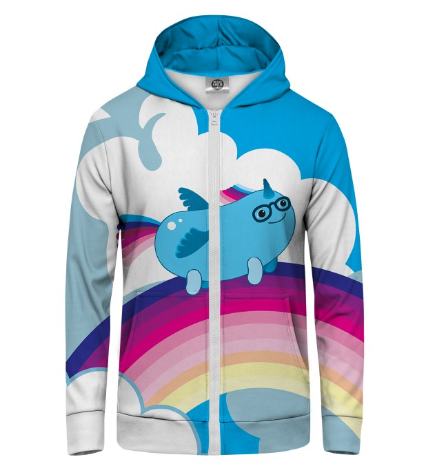 Sausage unicorn Zip Up Hoodie Thumbnail 1