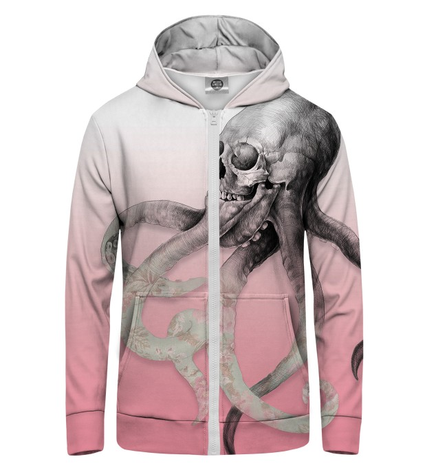 octopus Zip Up Hoodie Thumbnail 1