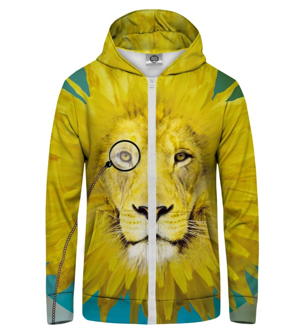 dandy lion1 Zip Up Hoodie Thumbnail 1