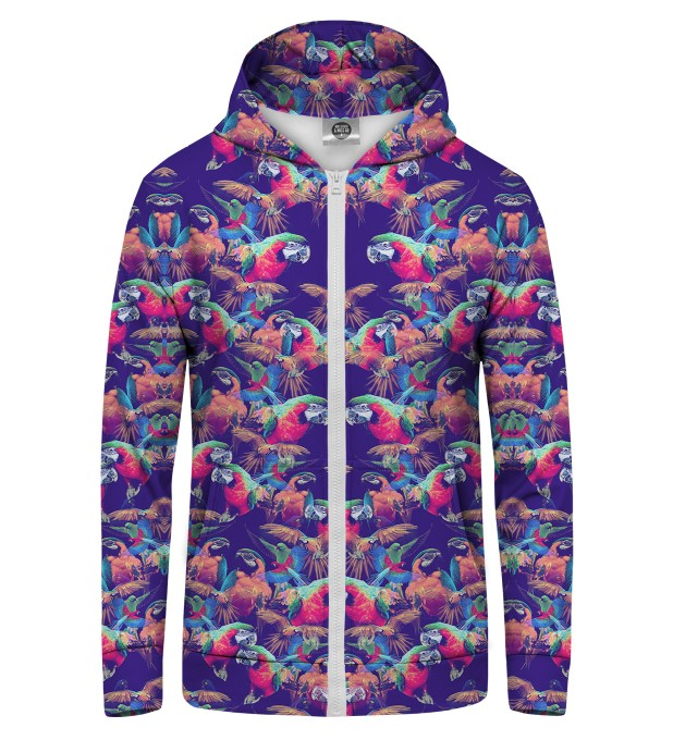 PARROTS Zip Up Hoodie Miniature 1