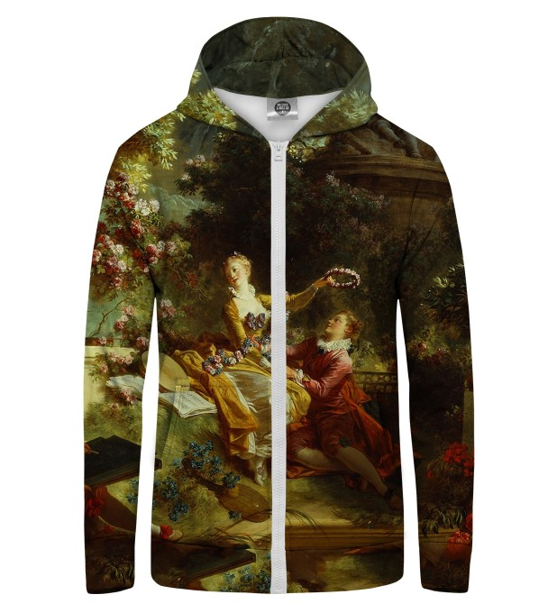 LOVER CROWNED Zip Up Hoodie Thumbnail 1