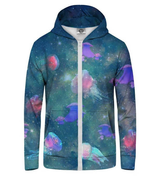 SPACE MEDUSA Zip Up Hoodie Thumbnail 1
