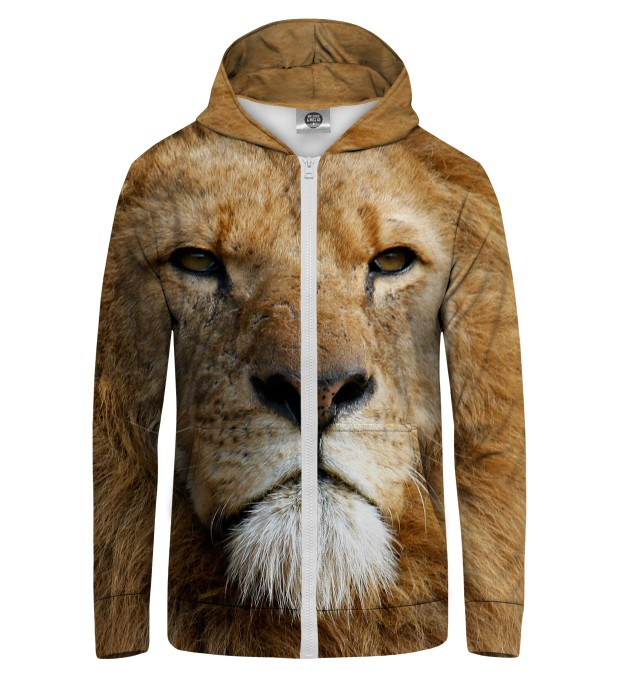 LION WATCHERS YOU Zip Up Hoodie Thumbnail 1