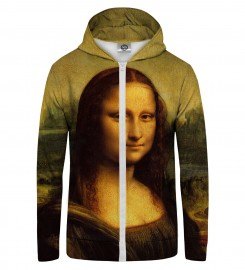 Mr. Gugu & Miss Go, MONA LISA Zip Up Hoodie Thumbnail $i