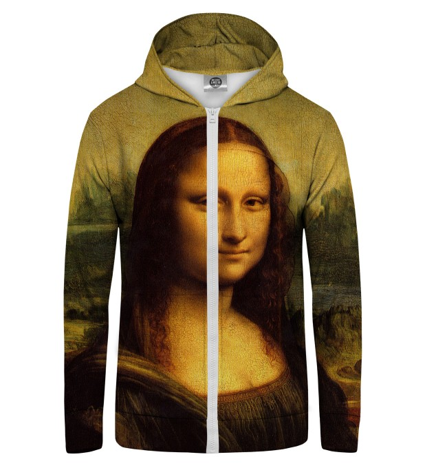 MONA LISA Zip Up Hoodie Thumbnail 1