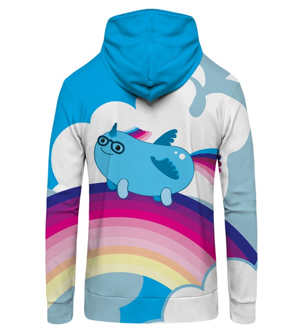 Sausage unicorn Zip Up Hoodie Thumbnail 2