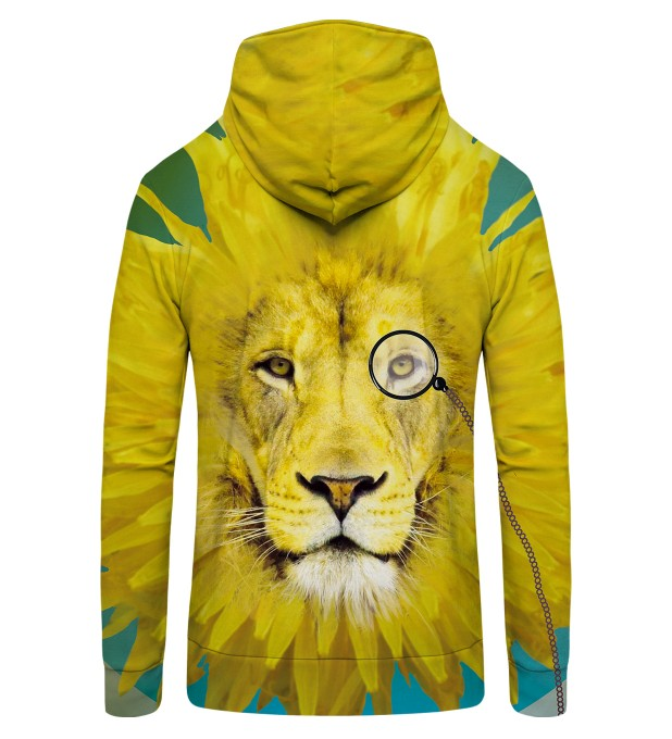 dandy lion1 Zip Up Hoodie Thumbnail 2