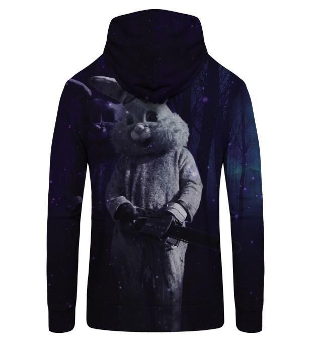 RABBIT MAN Zip Up Hoodie Thumbnail 2