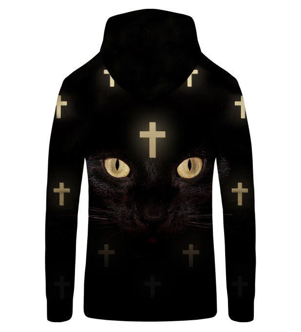 CROSS CAT NET Zip Up Hoodie Thumbnail 2