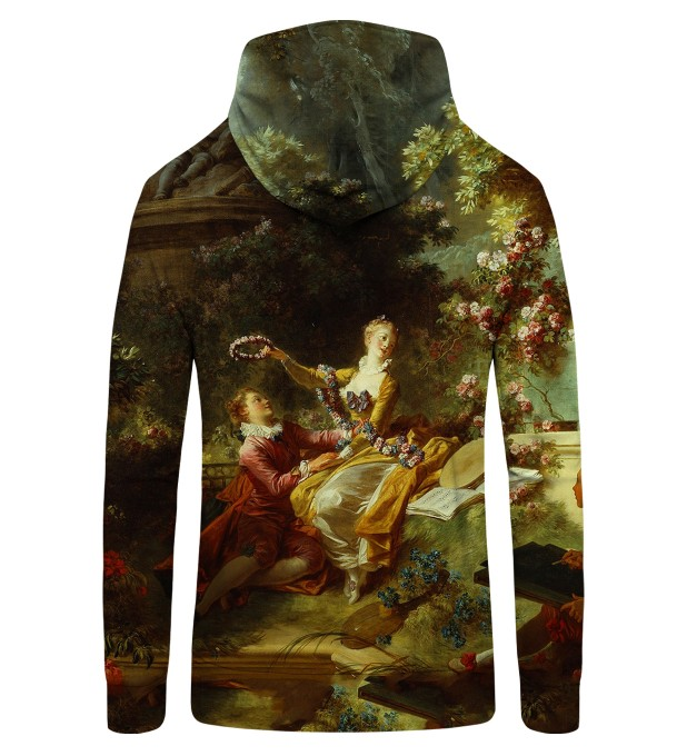 LOVER CROWNED Zip Up Hoodie Thumbnail 2