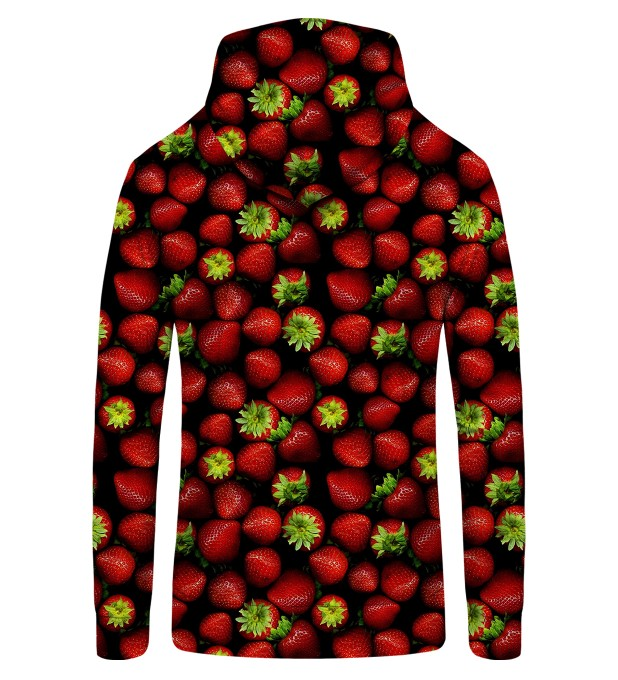 strawberries Zip Up Hoodie Thumbnail 2