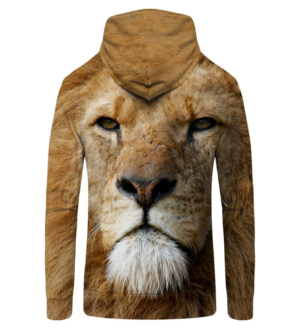 LION WATCHERS YOU Zip Up Hoodie Thumbnail 2