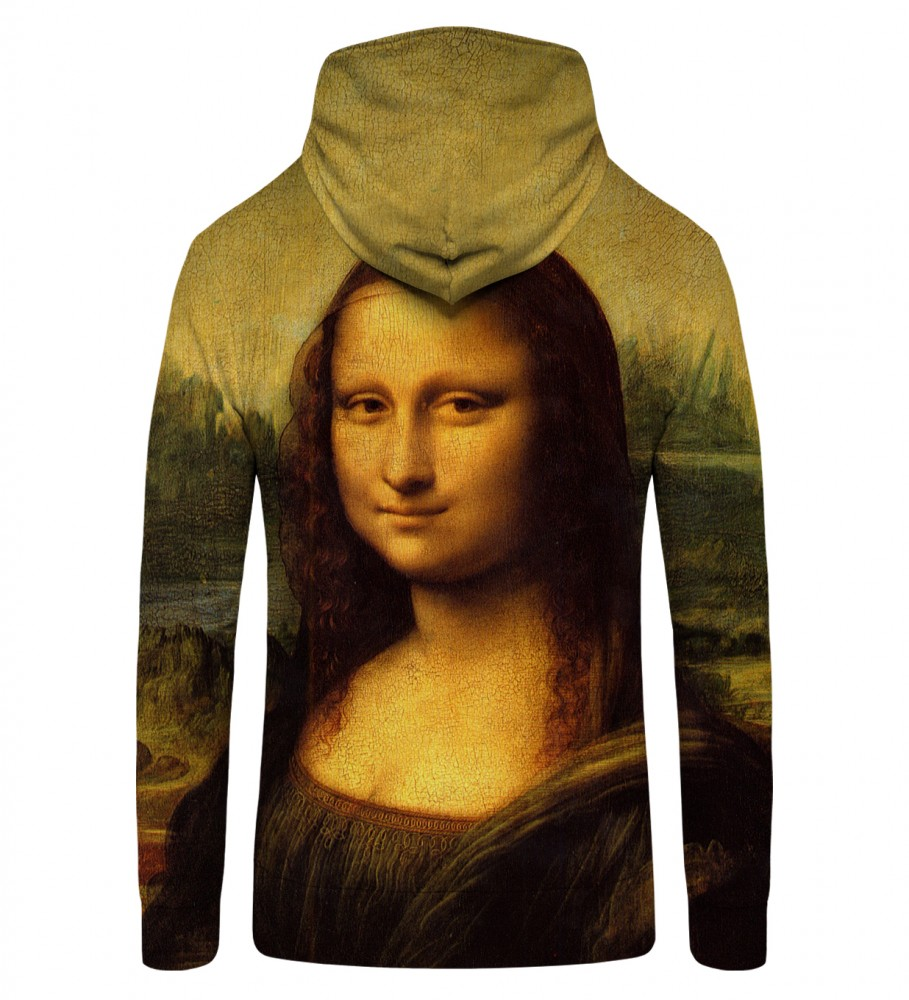 Mr. Gugu & Miss Go, MONA LISA Zip Up Hoodie Image $i