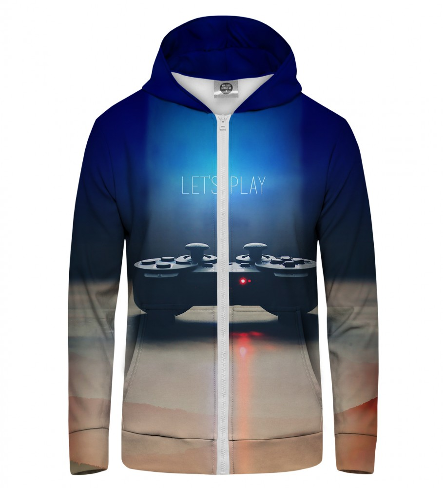 Mr. Gugu & Miss Go, gamer Zip Up Hoodie Image $i