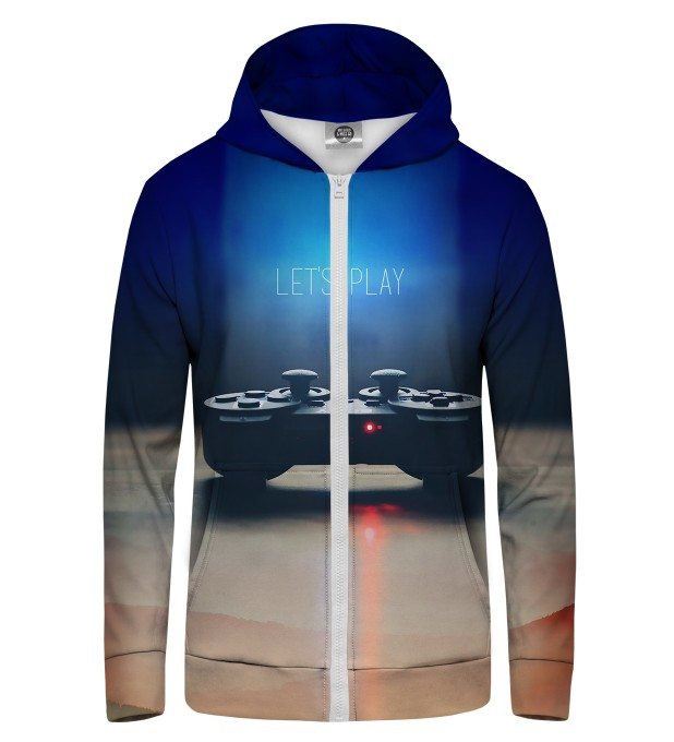 gamer Zip Up Hoodie Thumbnail 1