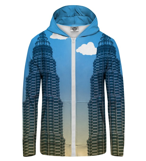 Towers Zip Up Hoodie Thumbnail 1